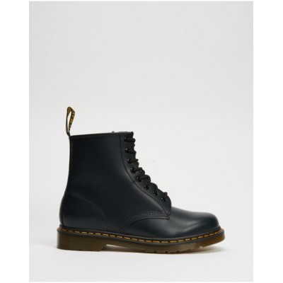 Dr Martens Women 1460 8-Eye Boots - Unisex Navy Smooth Top Sale LIKAVUY