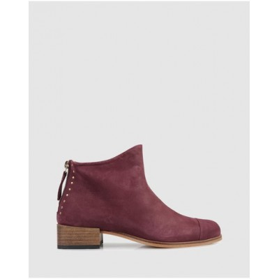 Beau Coops Women Beau5 Square Ankle Boots Vinac The Best Brand QMIDOZD