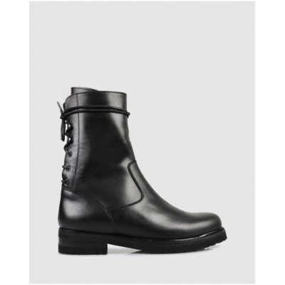 Beau Coops Women Concorde Ankle Boots Nero HHCFCUG