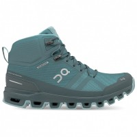 On Women's Cloudrock Waterproof - Walking boots All Black Womne - Outdoor shoes outfits VBNBHJP