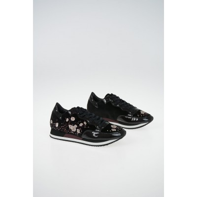 Women Chenille Embroidered ETOILE Sneakers Philippe Model Paris for work Selling Well GBVC915