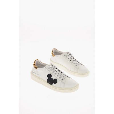 Women DISNEY Leather Sneakers MOA Master of Arts Casual TUZH343