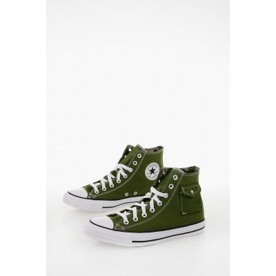 Women ALL STAR Fabric Sneakers with Breast Pocket Converse for wide feet Hot Sale LDJX556