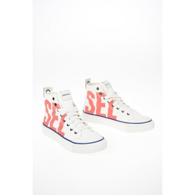 Women Canvas ASTICO Sneakers Diesel Wide fit WGQX461