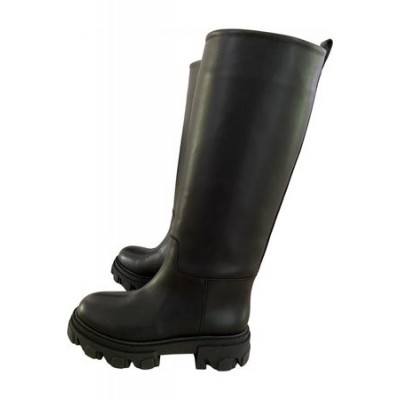 Women GIA Gia x Pernille leather biker boots Black Leather New Look HUSL6620