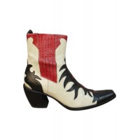 Women SARTORE Leather western boots Multicolor Leather size 6 outlet YKVJ8355