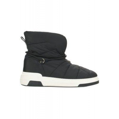 Women Casadei 20mm Space Jam Padded Nylon Snow Boots Black Leather size 7 Or Sale Near Me XPNV2820