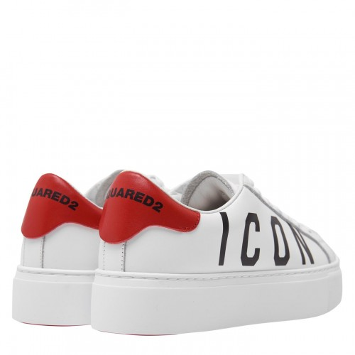 DSQUARED2 Icon Low-Top Sneakers - Women Trainers - Runners 2021 New LZDU240
